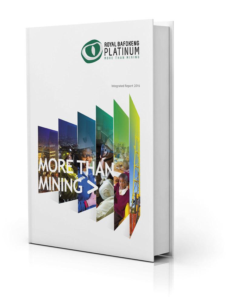 Royal Bafokeng Platinum Cover Book
