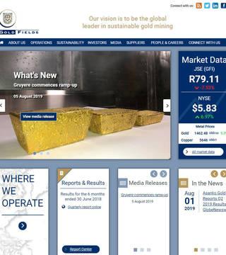 Gold Fields Corporate Site
