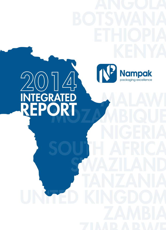 Nampak integrated report 2014