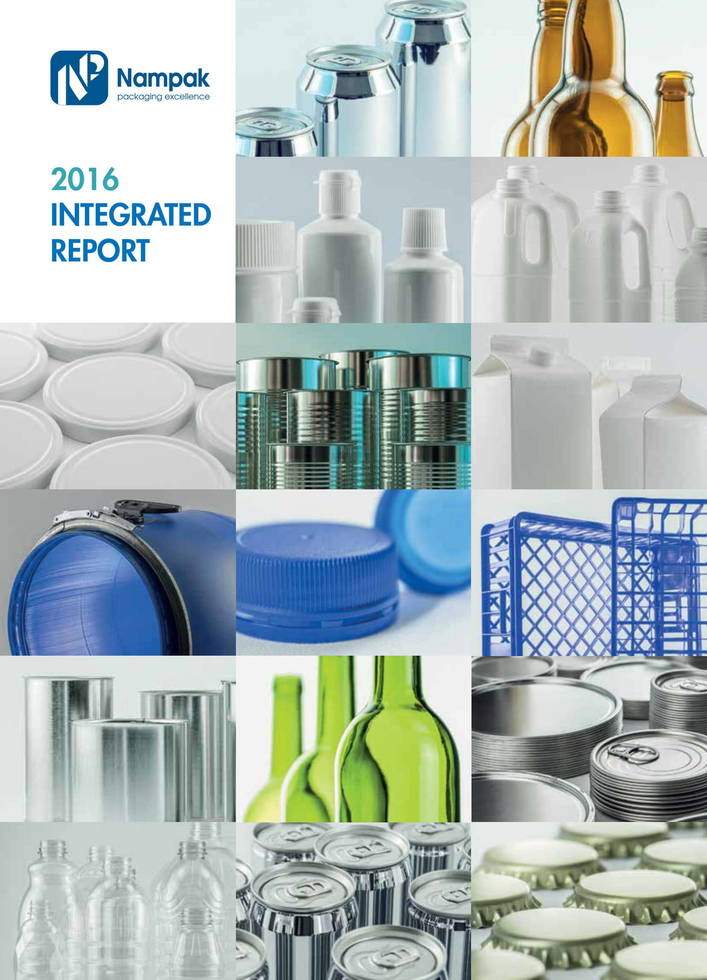 Nampak integrated report 2016
