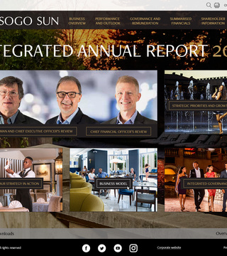 Tsogo Sun integrated annual report 2017