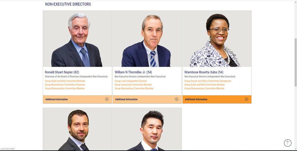 Conduit Capital Corporate Site - Directors