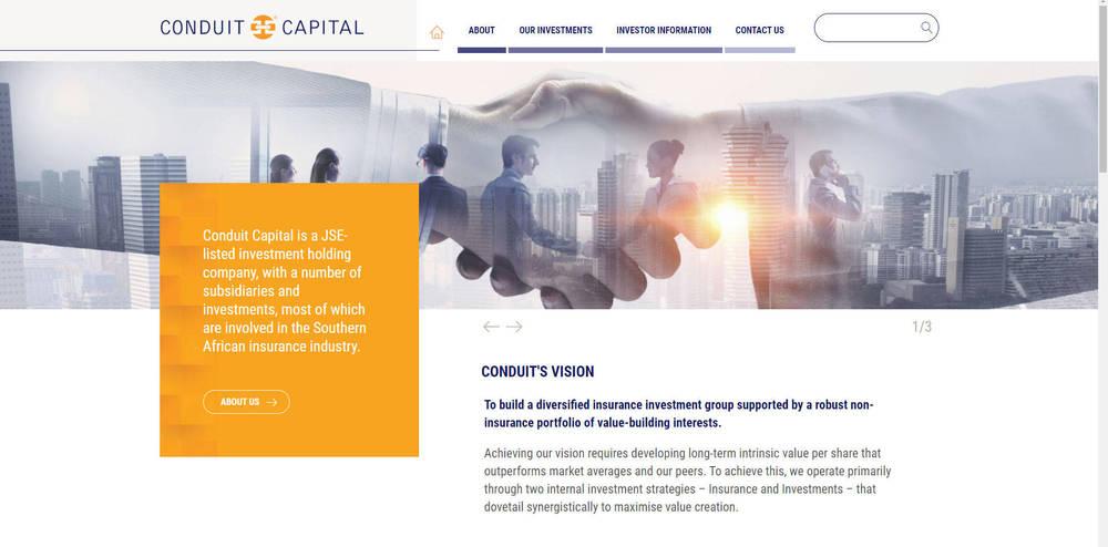 Conduit Capital Corporate Site - Home