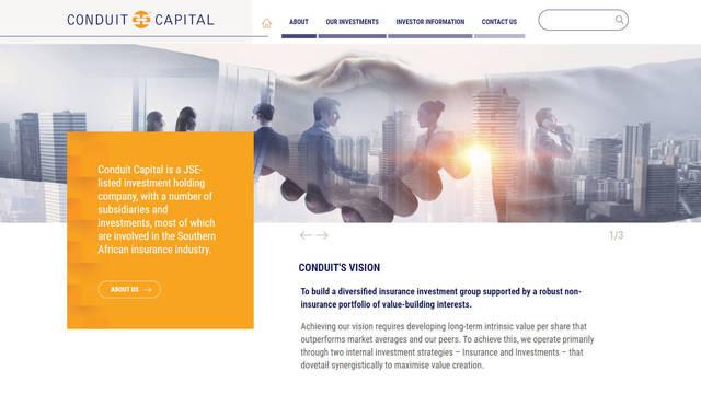Conduit Capital Corporate Site