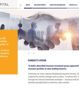 Conduit Capital Corporate Site