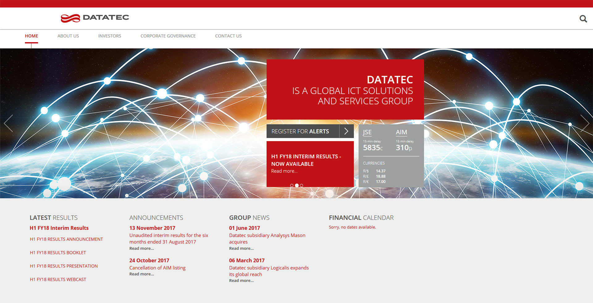 Datatec home