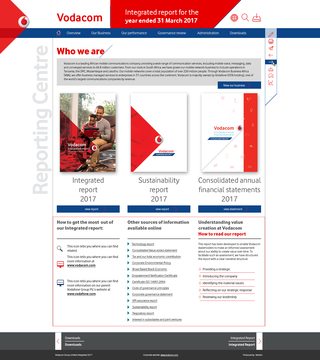 Vodacom integrated report