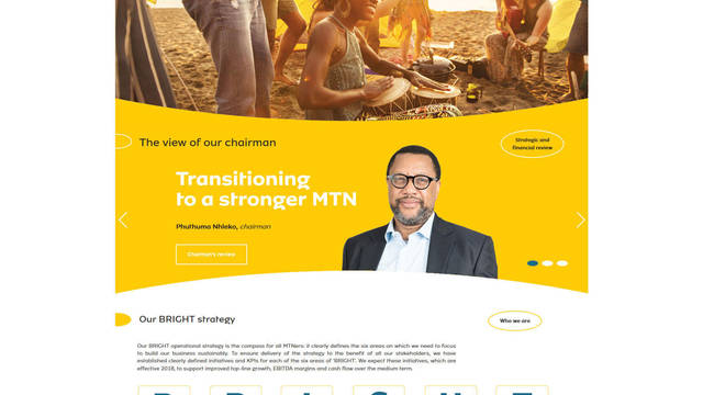 MTN Integrated Report for the year ended 31 December 2017